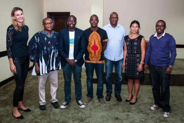 Members of the Ugandan team, Killer Analytics