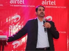 Mr. Indrajeet Kumar Singh, the Airtel Uganda Marketing Director