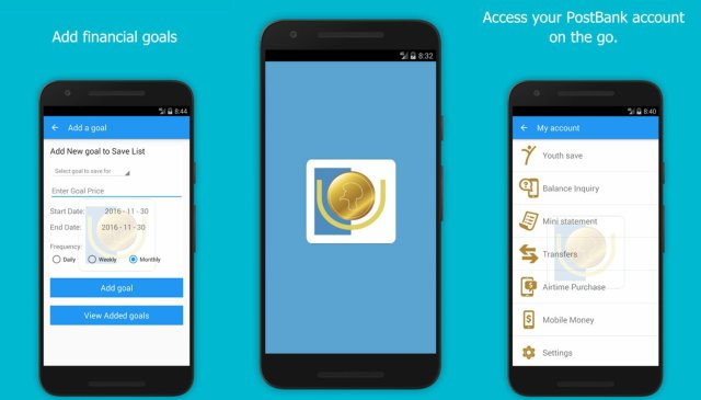 Youth save app by Post Bank