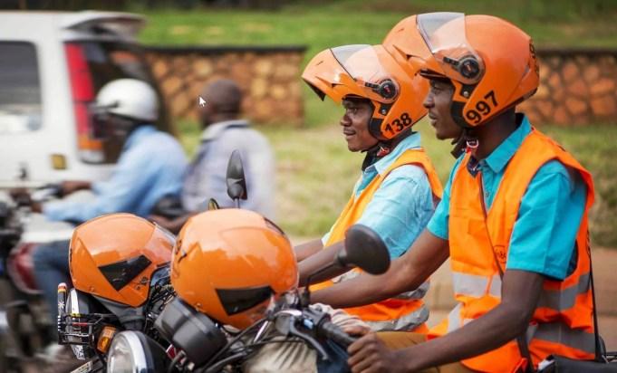 Safe boda in Uganda