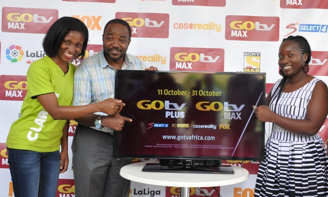 GOtv Uganda launches GoTV Max, check out pricing channels