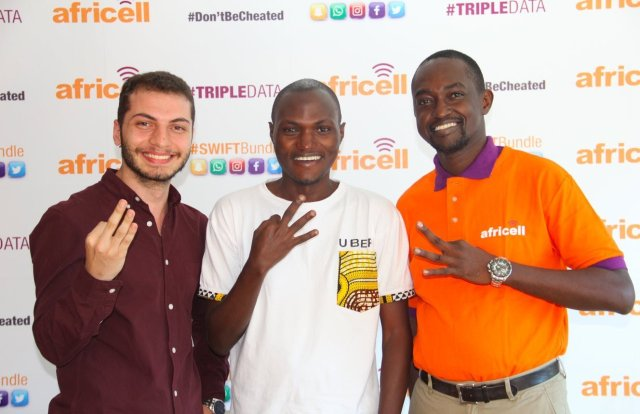 Uber with Africell