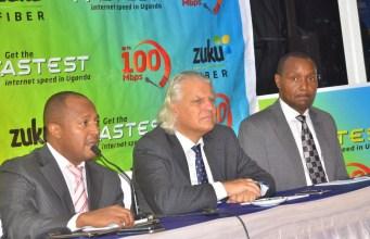 Zuku Fiber in Uganda launch