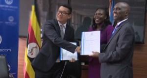 UTL signs MoU with Xinlan Group make phones in Uganda
