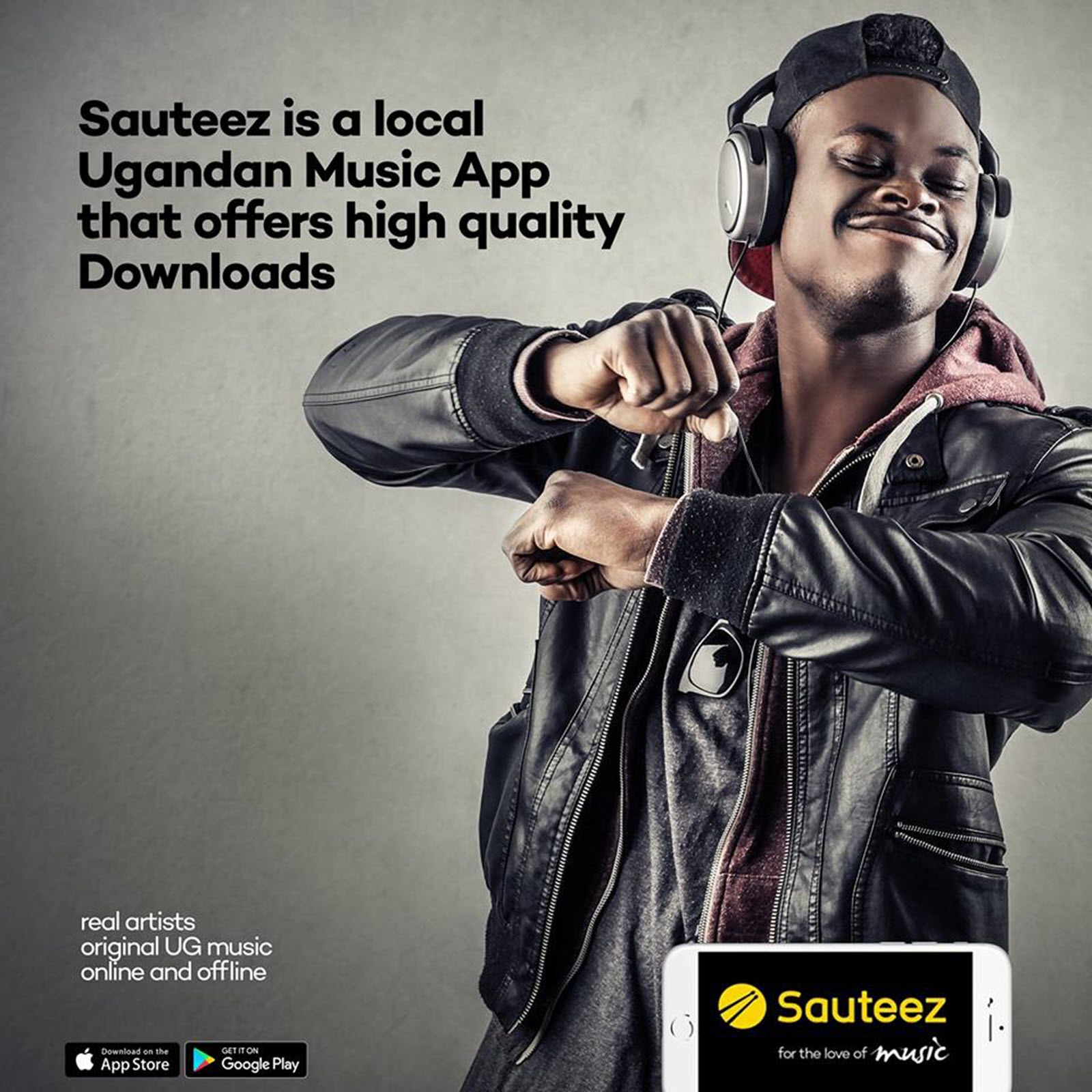 New Ugandan music streaming app Sauteez launched