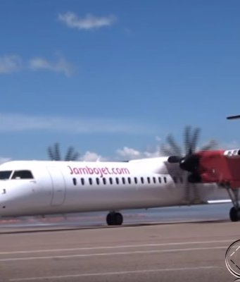 Jambo jet in Uganda