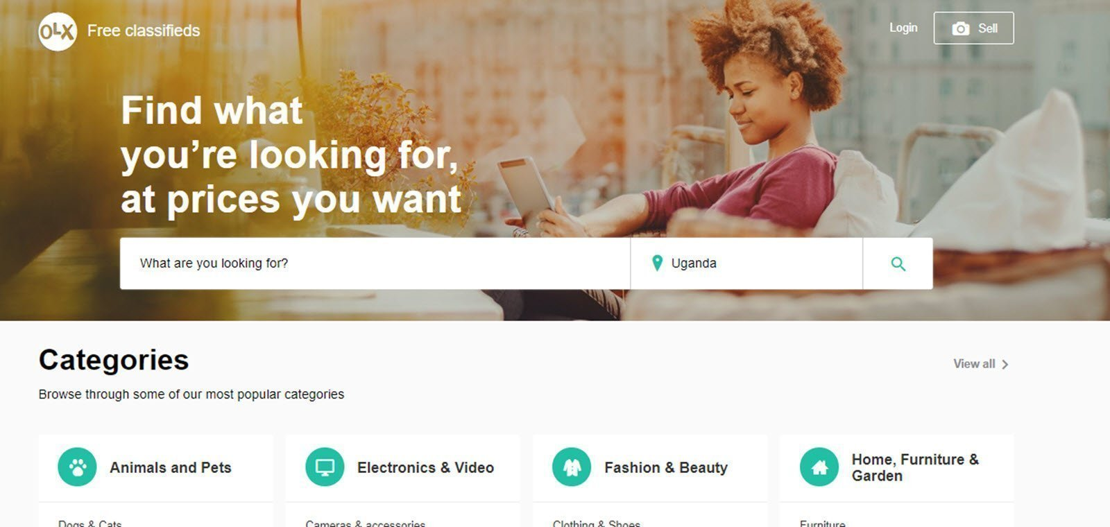 OLX gives its website a fresh new design together with a