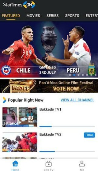 DSTVNow Vs Startimes ON App which streaming option is the