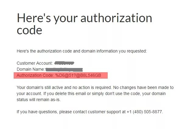 Get Authorization Code from email
