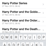 Search in iOS