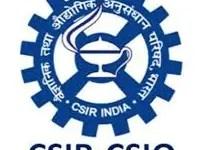 CSIO Recruitment 2021