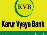 Karur Vysya Bank Recruitment 2021