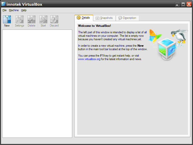 VirtualBox (And Setting Up Linux Mint in Windows)