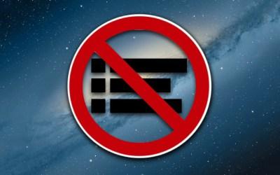 Disable Notification Center OS X