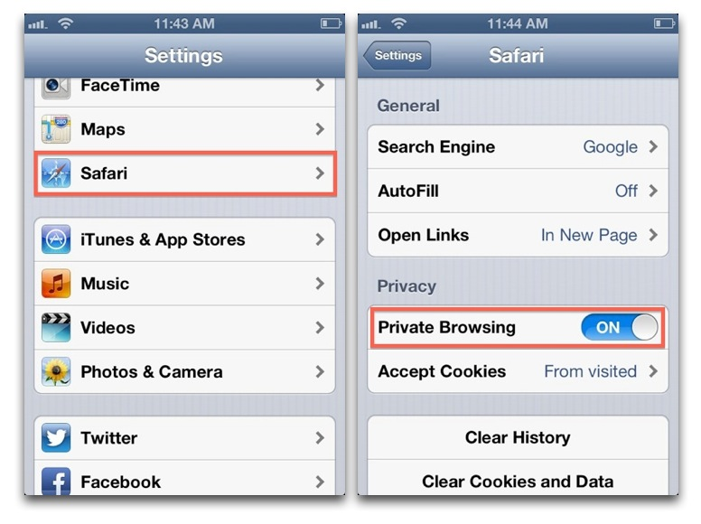 How and Why to Use Private Browsing in iOS