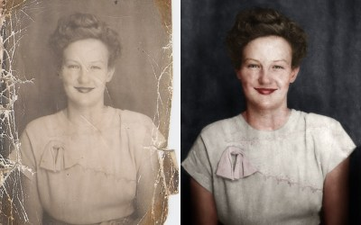 Photoshop Restoration Video