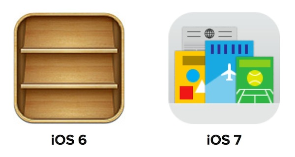 Redesign Newsstand iOS 7
