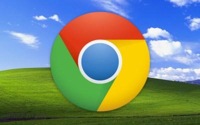 Google Chrome Windows XP