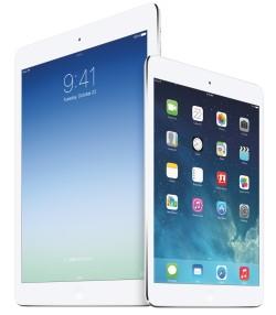 Apple iPad Air and iPad mini