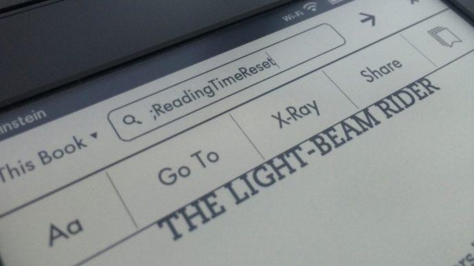 Kindle Paperwhite Search ReadingTimeReset