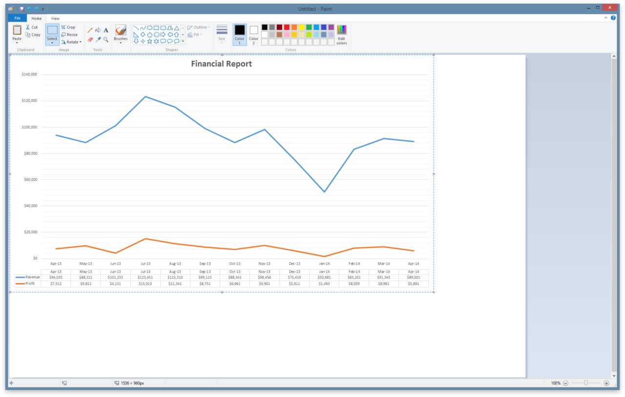 How to Export Excel Charts as Image Files