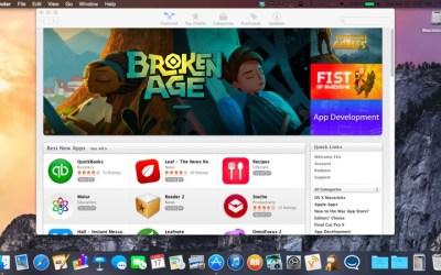 OS X Yosemite Dark Mode