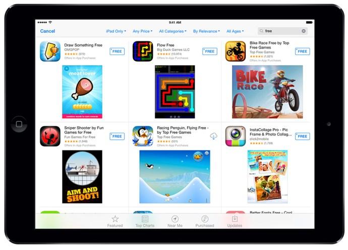 iPad Air Free Apps