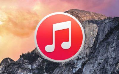 iTunes 12 Yosemite