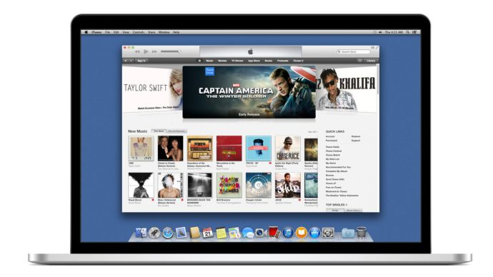 iTunes MacBook Pro