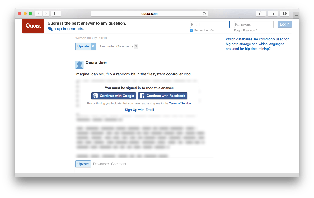 How to See All Answers on Quora Without Logging In