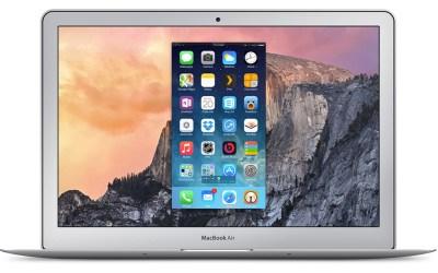 Record iPhone Screen OS X Yosemite iOS 8