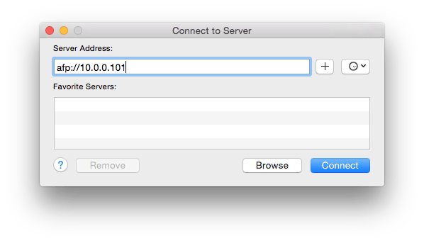 How to Automatically Connect to a Network Drive at Login in OS X