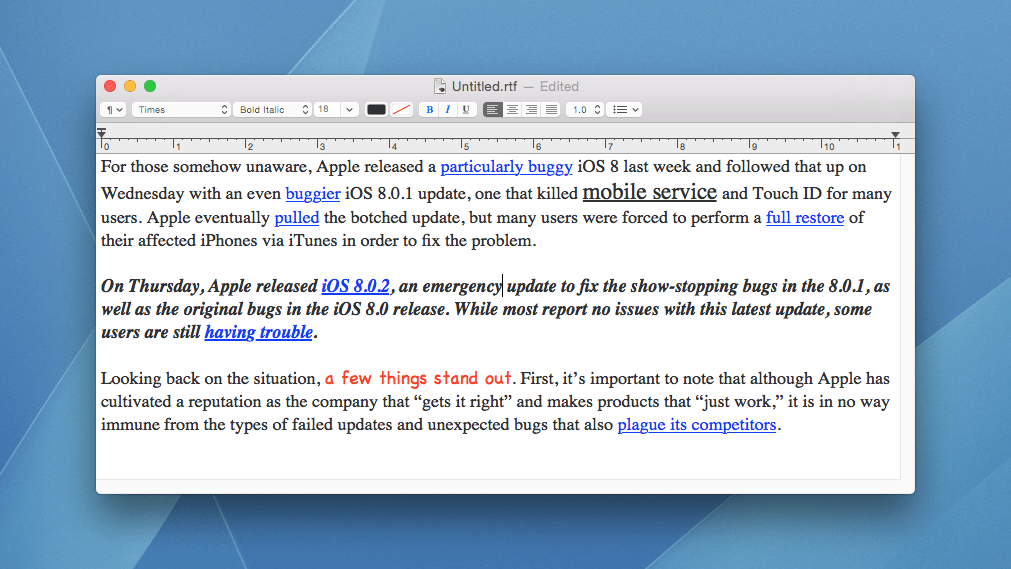 picture relating to Na Basic Text Printable called How toward Employ the service of TextEdit Simple Words and phrases Method by means of Default inside Mac OS X