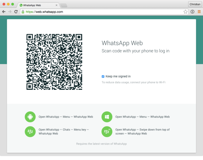 WhatsApp-web-app