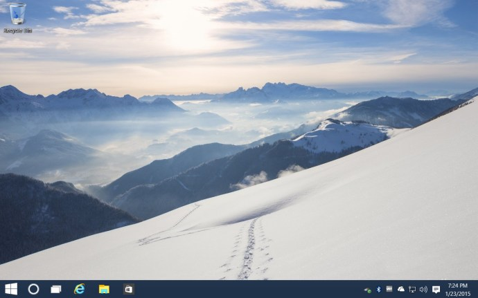 windows 10 taskbar search icon