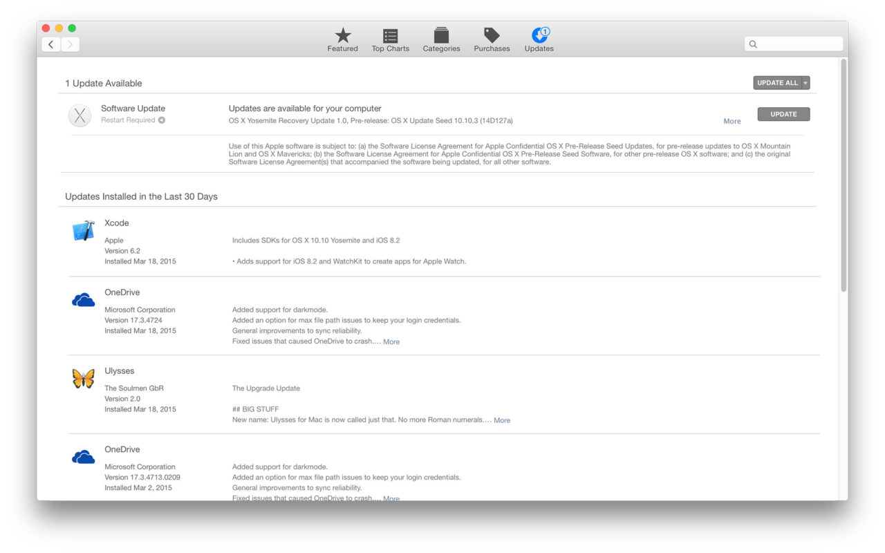 How to View the Complete App Installation History in Mac OS X