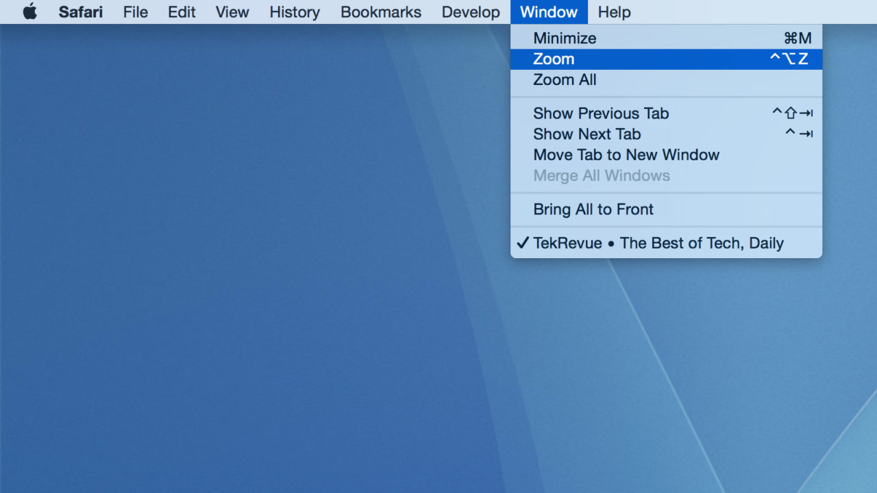 How to Resize an Off Screen Window in Mac OS X