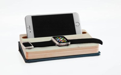 dodocase iPhone apple watch dock