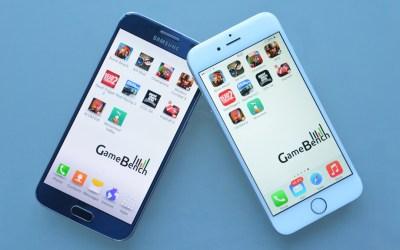 gamebench iphone 6 galaxy s6 benchmarks