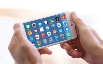 iphone 6 plus home screen landscape