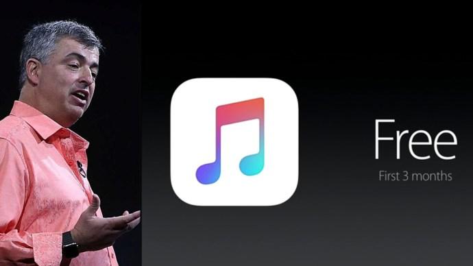eddy cue apple music free trial