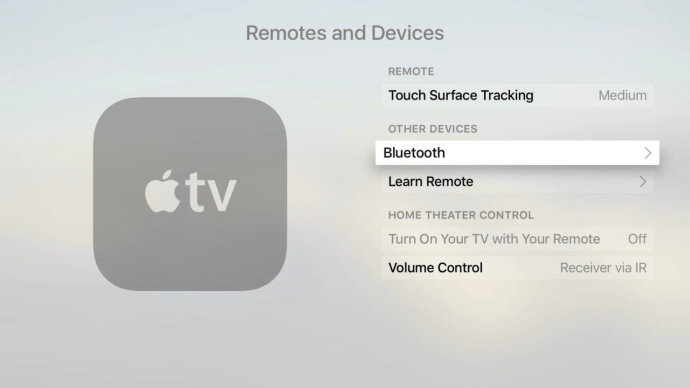 apple tv bluetooth and devices