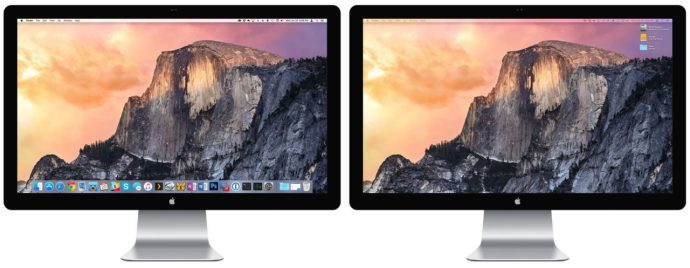 move dock second display os x