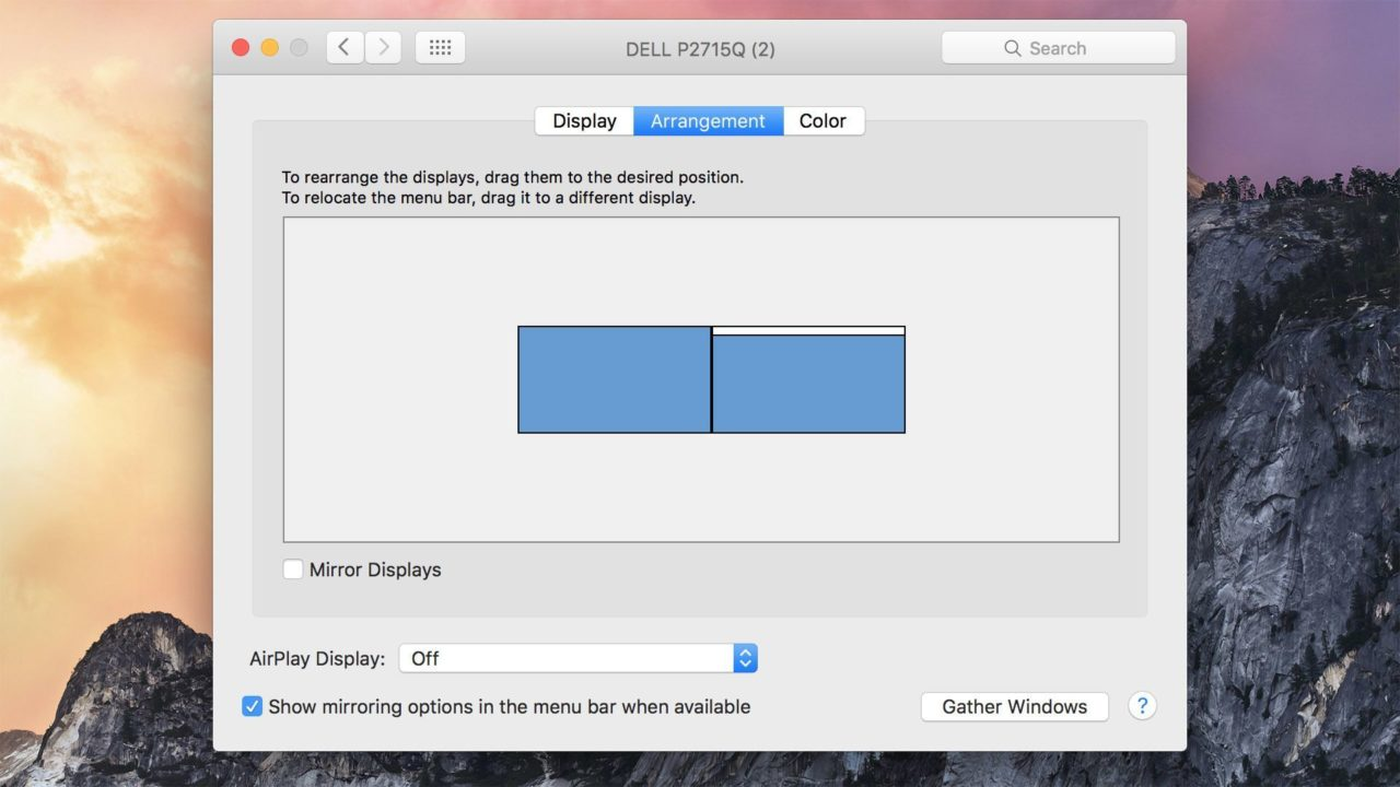 How to Move the Dock to a Another Monitor in OS X El Capitan