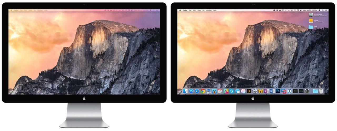 mac os x move menu bar to second display