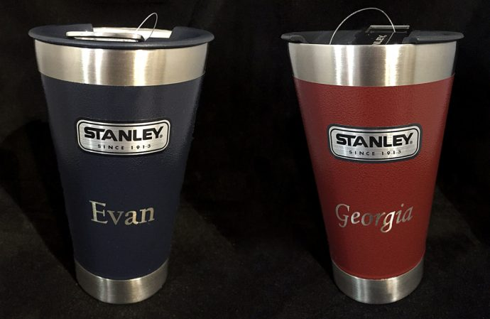 perfect etch custom engraved stanley tumblers