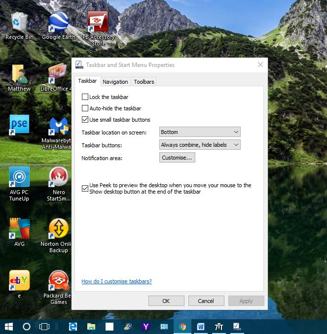 windows 10 taskbar2