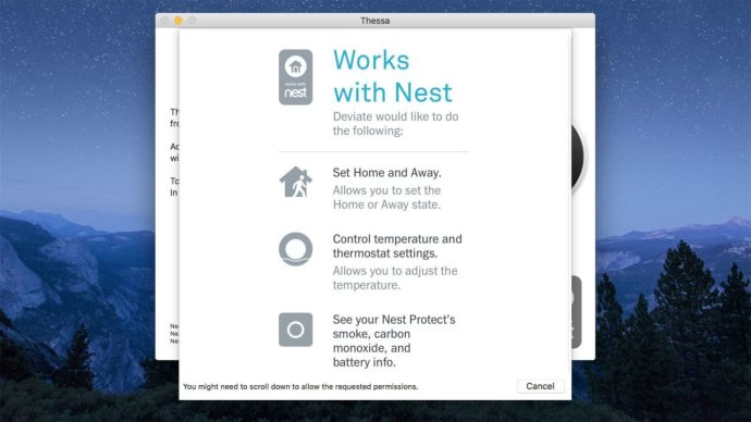 thessa works with nest