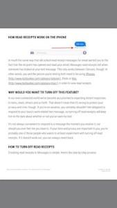 web site in iBook format