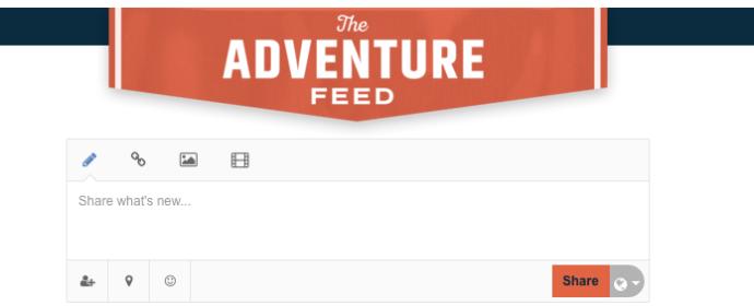 Adventurer Feed
